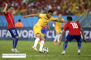 Group B - Chile vs Australia