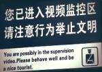 Nice Tourist Sign