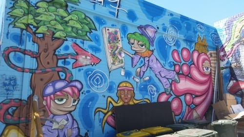 Street Art Beaufort St 2
